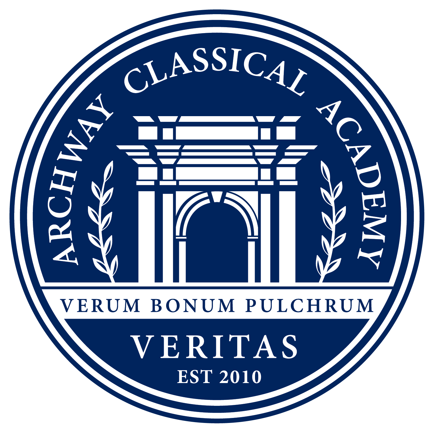 Great Hearts Archway Veritas, Serving Grades K-5 School Crest